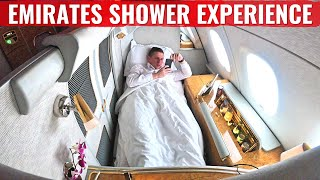 LUXURIOUS EMIRATES A380 FIRST CLASS & SHOWER EXPERIENCE