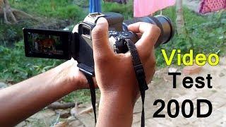 canon 80d vs 200d video test in hindi - TH-Clip