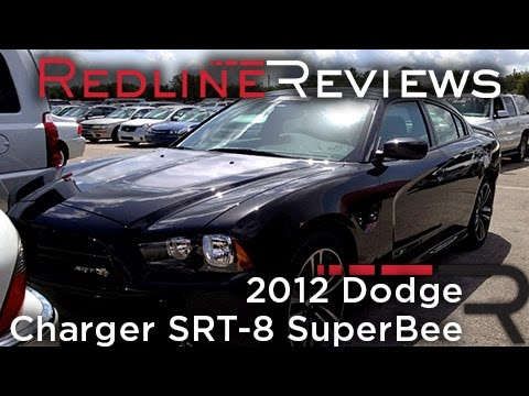 2012 Dodge Charger SRT-8 SuperBee Review, Walkaround, Start Up & Rev, Exhaust