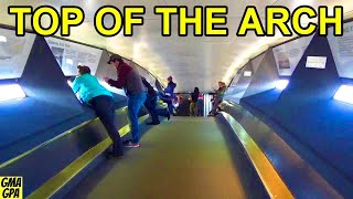 Riding To The Top Of The Gateway Arch In The Tram Car: What It's Like & What You Can See Of St Louis