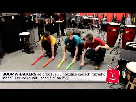 BOOMWHACKERS ML1G Paličky pro Boomwhackers