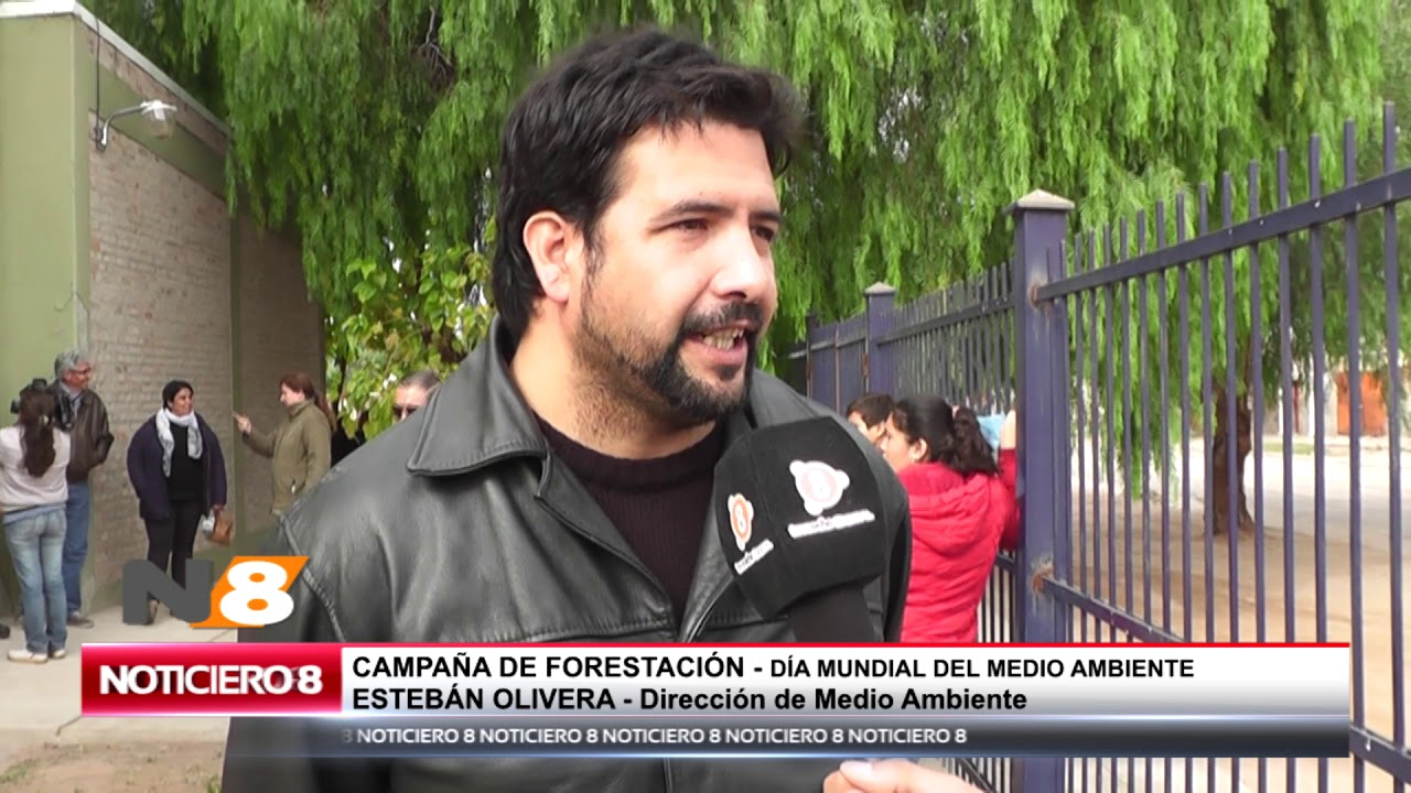 CAMPAÑA DE FORESTACIÓN EN EL DÍA MUNDIAL DEL MEDIO AMBIENTE