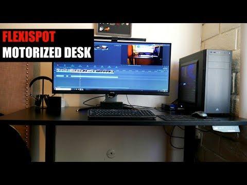 FlexiSpot motorized desk Review