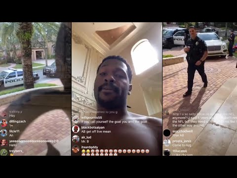 Cops PULL UP To Antonio Brown House After BEEF With Ex Chelsie Kyriss & Series Of Tweets!