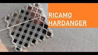 RICAMO HARDANGER SPIEGATO PASSO PASSO - TUTORIAL #PICCOLILAVORI