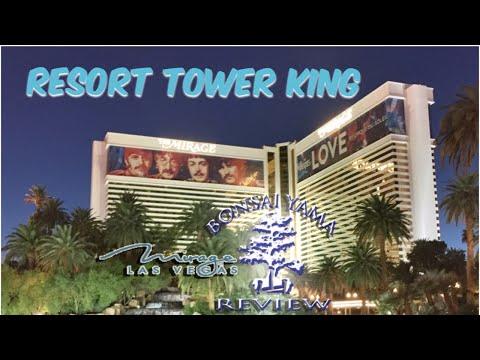 LAS VEGAS MIRAGE RESORT TOWER KING REVIEW