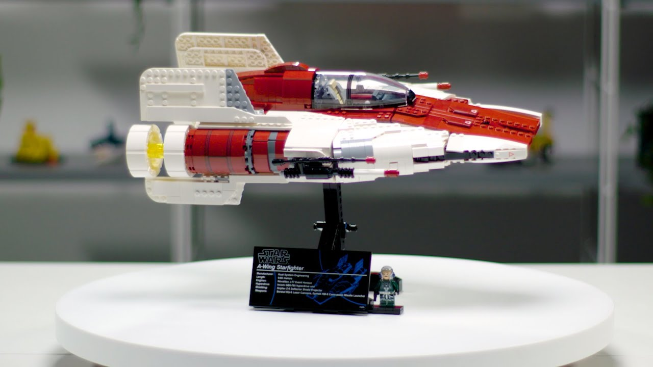 LEGO Star Wars A-Wing Starfighter | Ultimate Collector Series 75275 Designer Video