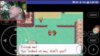 Pokemon fire red ep 2 with cheats
