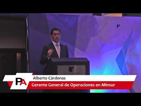 Alberto Cardenas, Minsur - III Encuentro de Socios Estratégicos de la División Minera