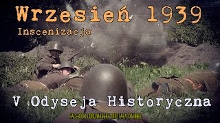 preview picture of video 'Wrzesień 1939 - Inscenizacja historyczna - V Odyseja Historyczna - Kutno 2014'