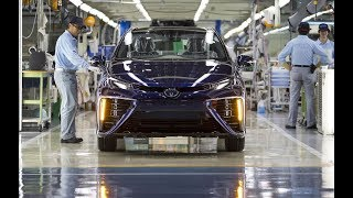 Toyota Mirai FULL PRODUCTION in Japan