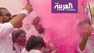 صباح العربية   سباق الألوان على كورنيش الخبر