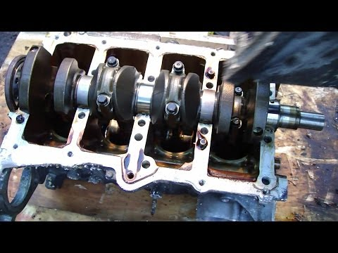 maybach engine diagram how to remove crankshaft bearings on toyota vvti    engine     how to remove crankshaft bearings on toyota vvti    engine