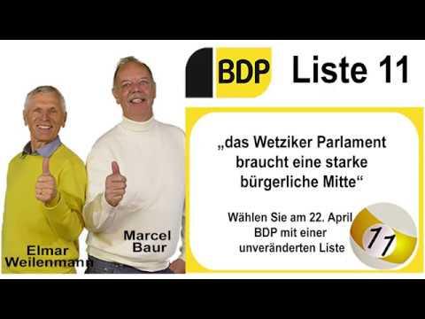 BDP Wetzikon, Wahlen 2018