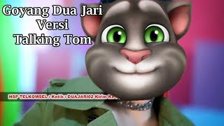 Sandrina Goyang Dua Jari Versi Talking Tom Cover