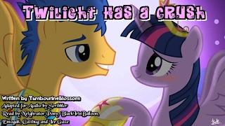 Pony Tales [MLP Fanfic Readings] Twilight Has A Crush (romance/sad/slice-of-life - Flash/Twilight)
