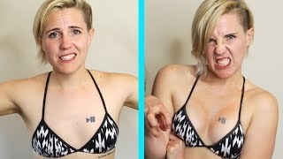 My Girlfriend Gave Me A Boob Contour - Video Youtube