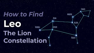 How to Find Leo the Lion Constellation of the Zodiac