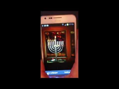 Video of Hanukkah Holiday HD Wallpaper