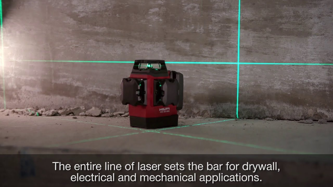 Line laser with 3 360 lines