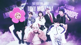 SO I CREATED A SONG OUT OF BTS MEMES