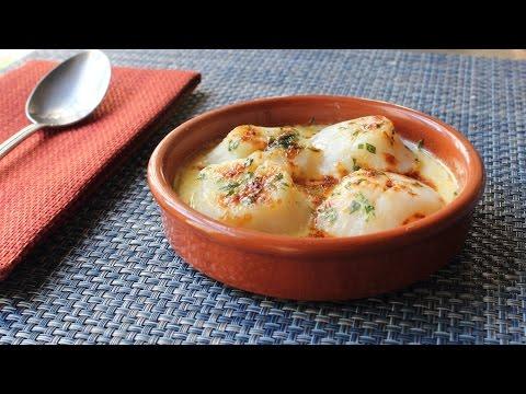 Scallop Gratin – Fast & Easy Broiled Scallop Gratin