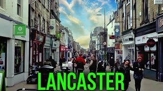 The UK Today - Walking Through Lancaster ( Lancashire ) City Centre. March 2016