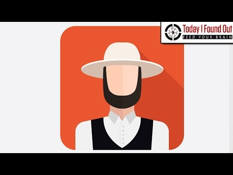 Why Do Amish Men Wear Beards But Not Moustaches?
