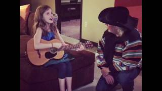 Nine year old serenades Seminole Wind to legendary John Anderson