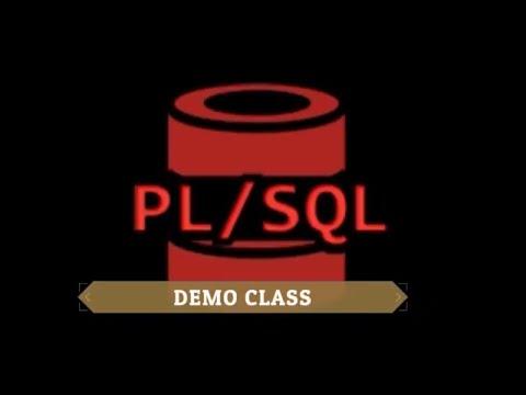 PL/SQL DEMO