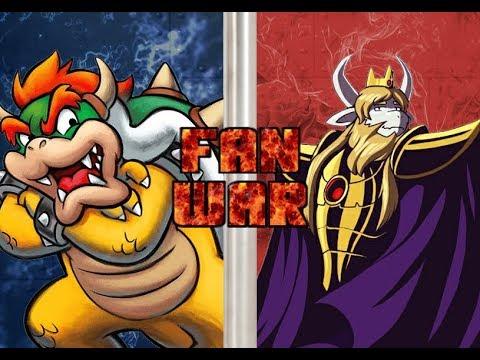 LANCER vs BOWSER JR! (Mario vs Undertale, Deltarune