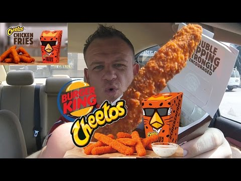 BURGER KING ☆CHEETOS CHICKEN FRIES☆!!!