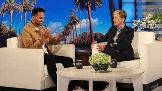 Ellen Meets Motivational Speaker Jay Shetty