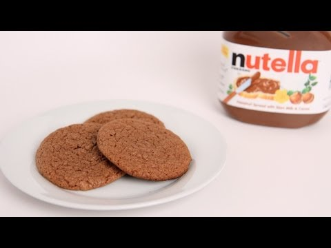 Homemade Nutella Cookies Recipe – Laura Vitale – Laura in the Kitchen Episode 390