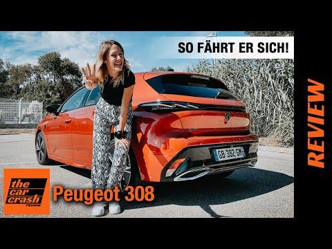 Peugeot 308 im Test (2021) Endlich darf ich ihn fahren! 🚗 Review   Fahrbericht   Hybrid   GT line