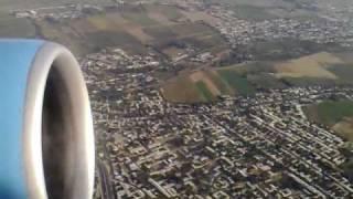 Uzbekistan Airways take off Tashkent airport