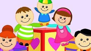 Oyuncaklar ile Dans Et Eğlen Alkışla - Dünya Çocuk Şarkıları