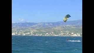 preview picture of video '24 Giugno 2011, NewKiteZone IKO Kite Center Punta Pellaro'