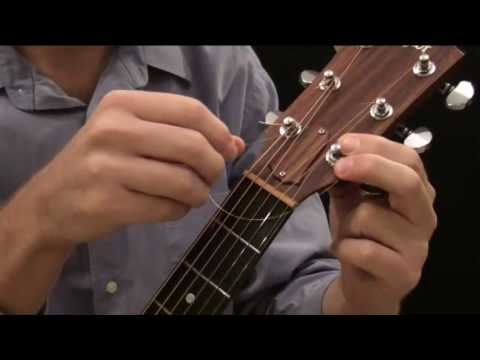Download How To Put New Strings On An Acoustic Guitar (Steel String) Mp4 HD Video and MP3