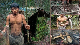 real life in the forest with primitive technology - full video | Kholo.pk