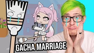 She Married a BROOM? | Reacting to Gacha Marriage Videos