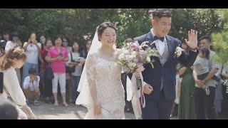 婚錄推薦/五葉松露營區美式婚禮/戶外證婚/凱駿+彩瑜