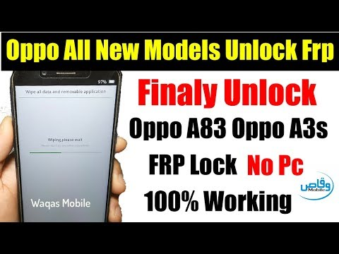 Oppo A83 Pattern Lock Remove Umt
