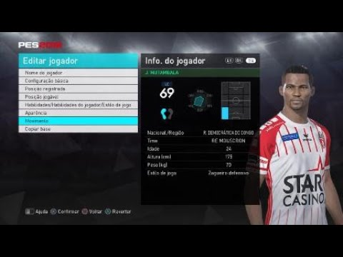 Download J. LOMALISA MUTAMBALA ROYAL EXCEL MOUSCRON PES 2018 HD Mp4 3GP Video and MP3