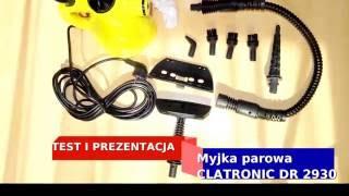 Test ciśnieniowa myjka parowa Clatronic DR 2930