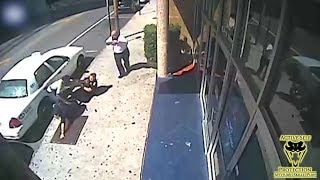 Brave Good Samaritan Helps Two Female Cops | Active Self Protection - Video Youtube