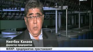 Чиновники Южного Казахстана наказаны за простой текстильных фабрик