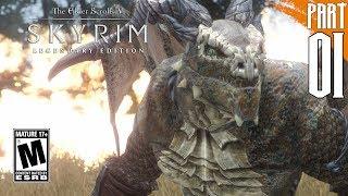 【SKYRIM 200+ MODS】Argonian Gameplay Walkthrough Part 1 [PC - HD]