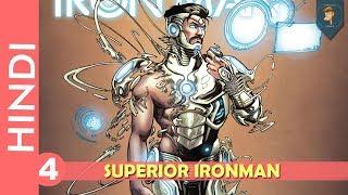 """SUPERIOR IRONMAN""--Episode 04!!ORIGIN OF TEEN ABOMINATION !!/Marvel Comics In HINDI"