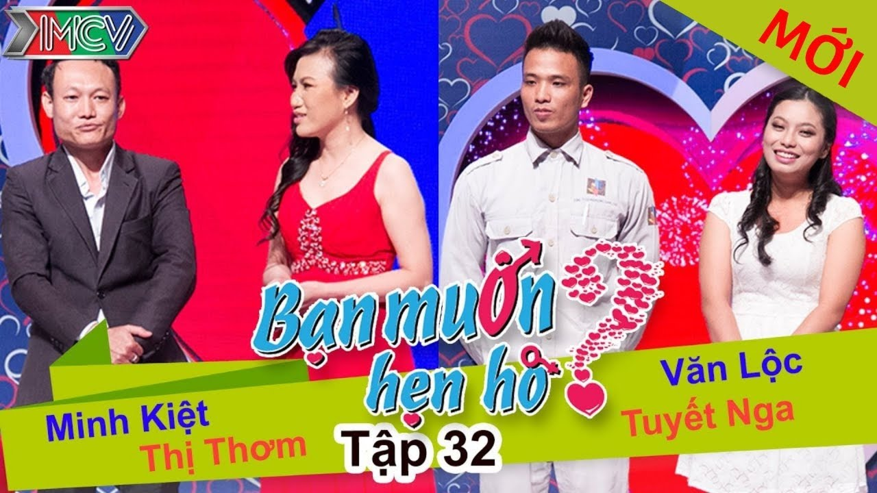 BẠN MUỐN HẸN HÒ #32 UNCUT | Minh Kiệt - Nguyễn Thơm | Văn Lộc - Tuyết Nga | 150614 💖